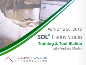 SDL Trados Studio Training