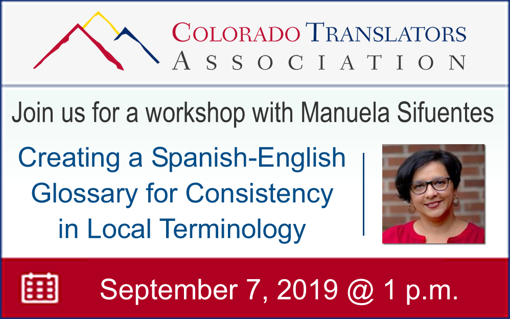 Workshop English-Spanish Glossary